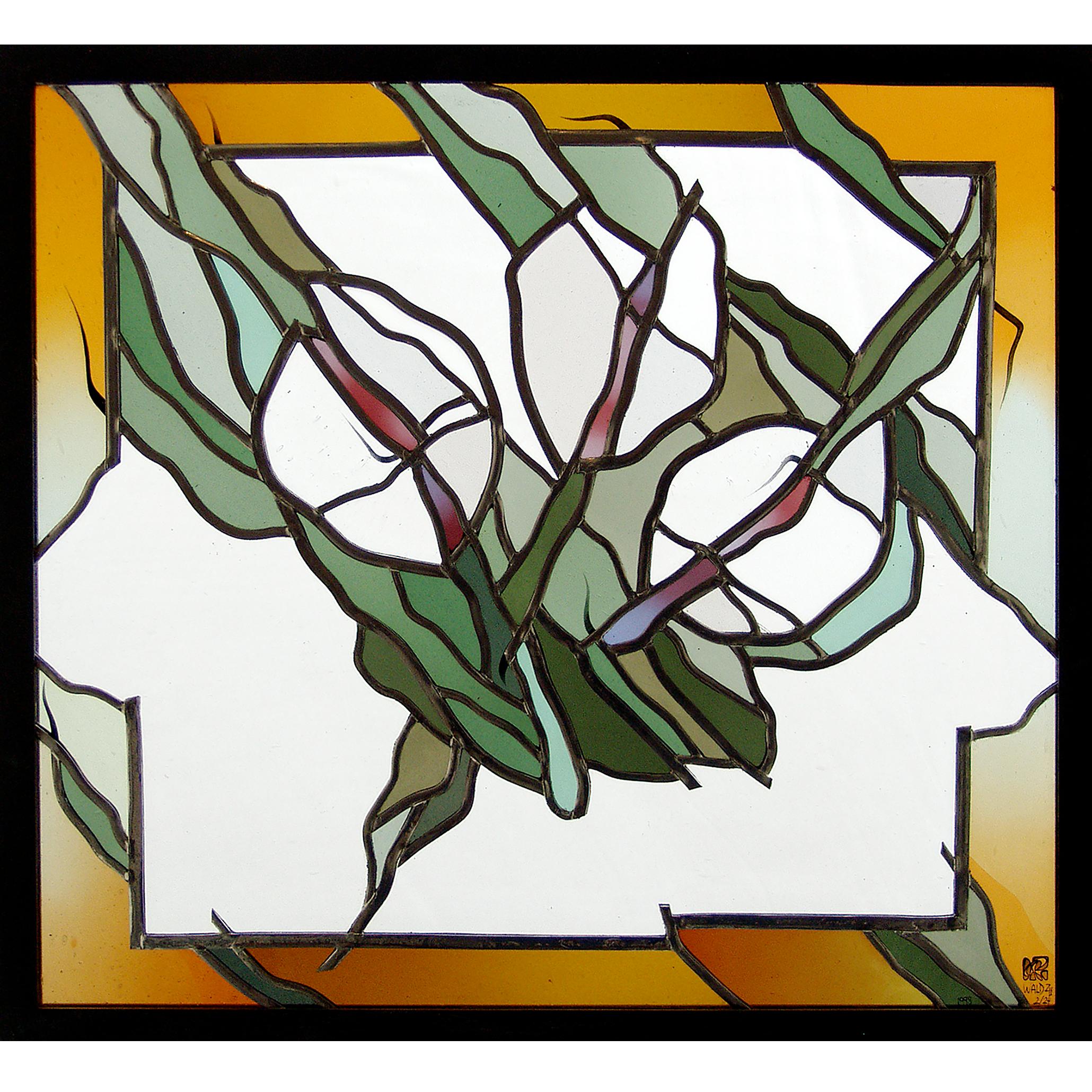 Glaskunst – Aufbruch - Glas-Design - Glasmalerei-Glaskunst --Bleiverglasung