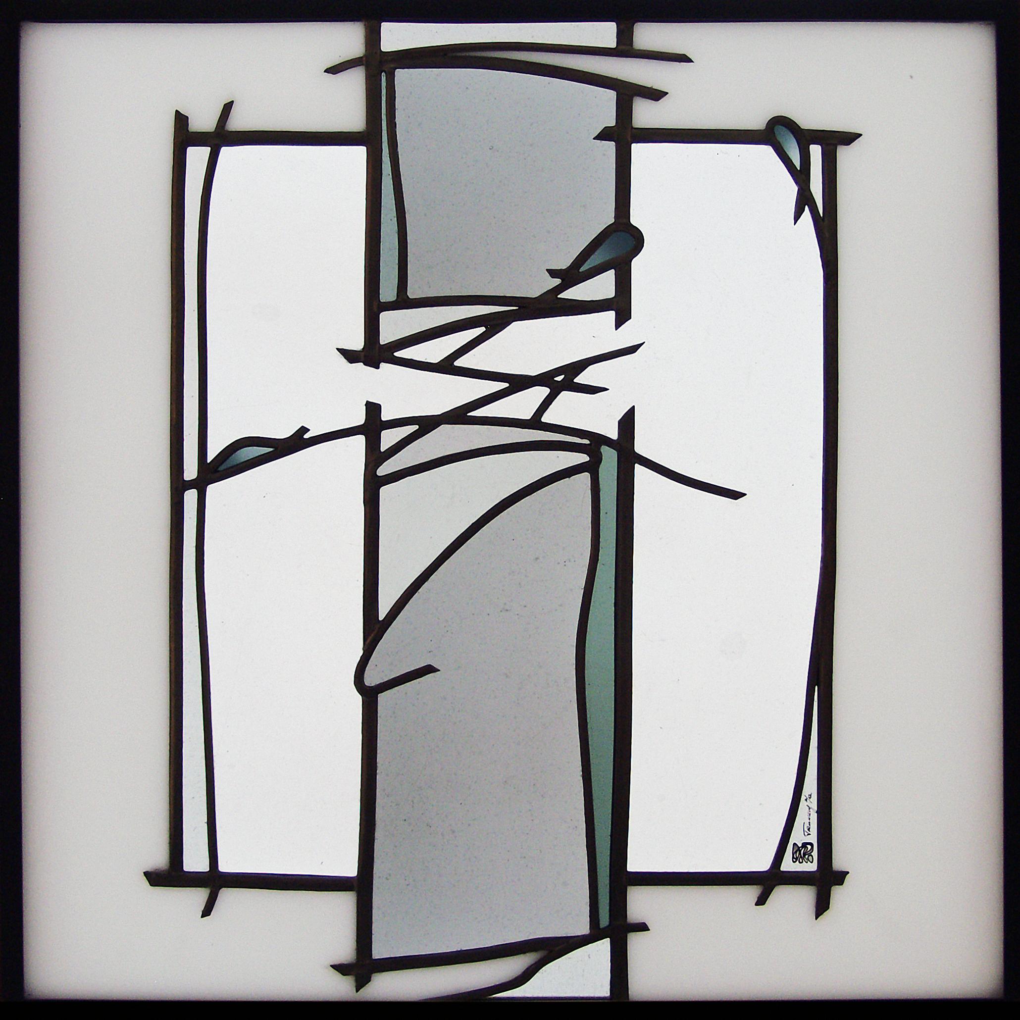 Trennung Glaskomposition verbleit Glas-Design -Glaskunst-Glasmalerei -Bleiverglasung