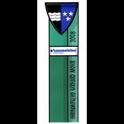 Wappenstele für den Baumeister-Verband Aargau Glasmalerei -Glasdesign-Bleiverglasung