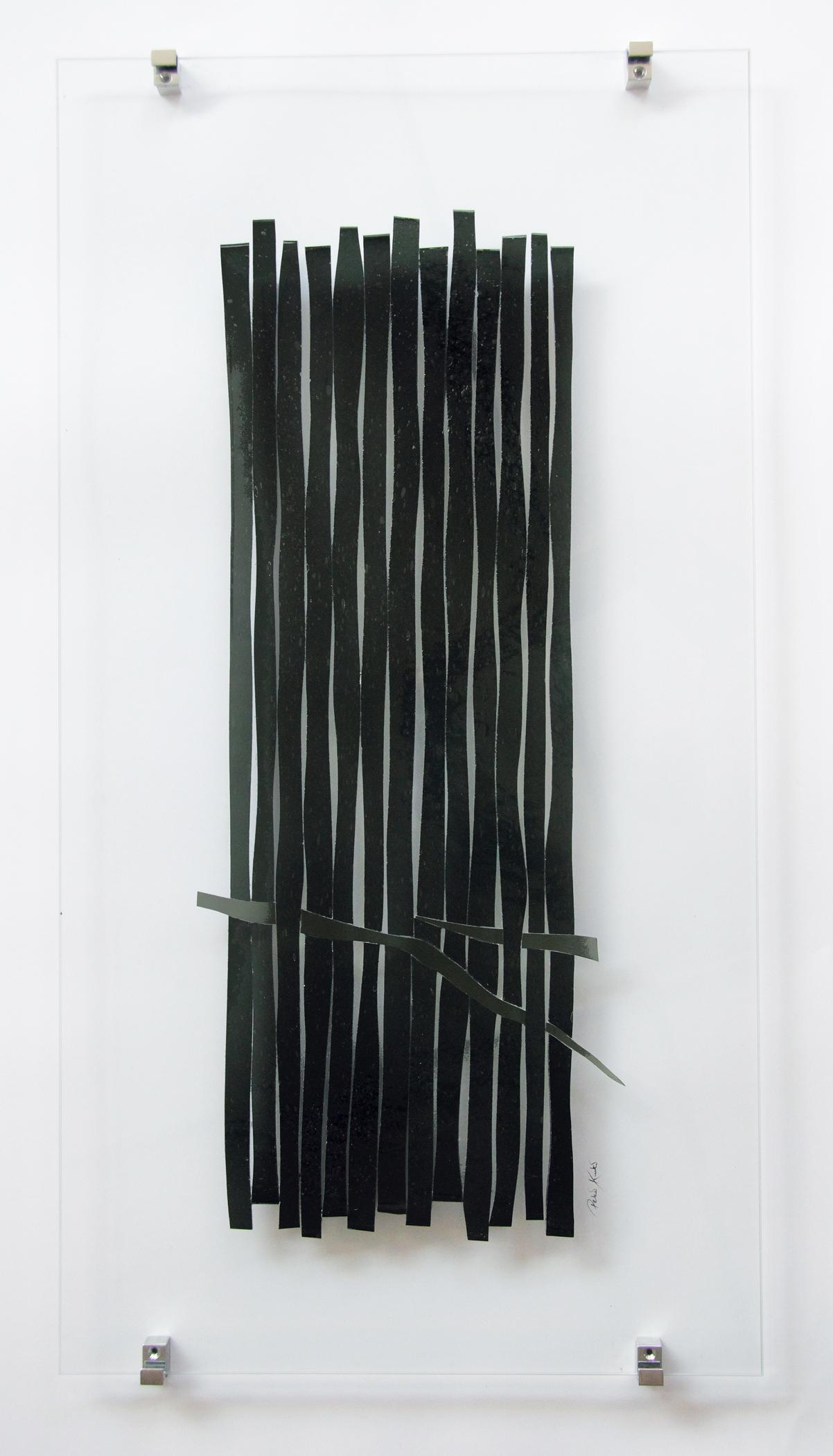 Glascollage - Geflecht - Atelier für Glasmalerei - Peter Kuster -Glasdesign