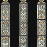 Klosterkirche Kappel a. Albis – die drei Südfenster Ausführung nach Entwurf von T.Kask -Bleiverglasung-Glasmalerei